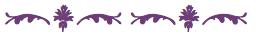 Purple squiggle 14
