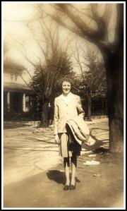 Mom, circa 1946